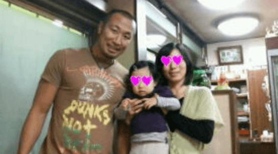 伊藤剛臣 家族画像 嫁 娘 子供