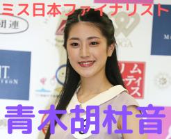 青木胡杜音 ミス日本 wiki