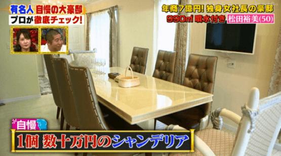 松田裕美 自宅