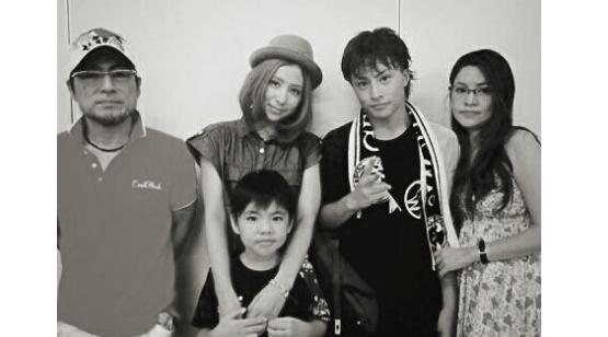 白濱亜嵐 家族