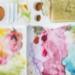 絵の具が染み付いたパレットをきれいに!落とし方の裏技を紹介!